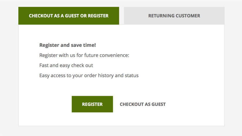 Example-of-guest-checkout-on-Naturalwise