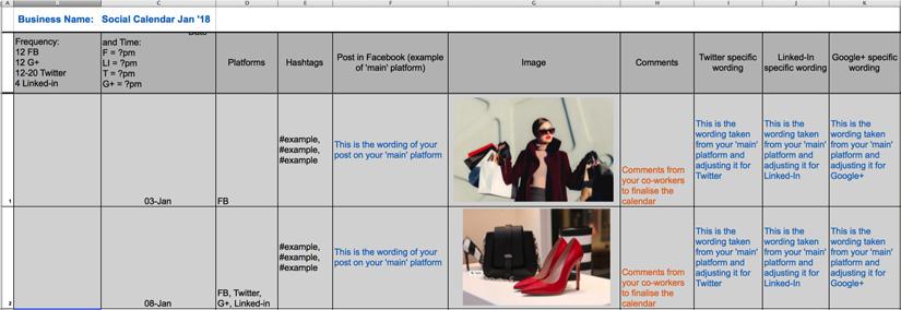 Social-calendar-example