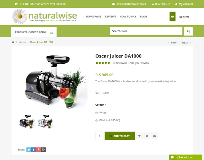 Naturalwise product page