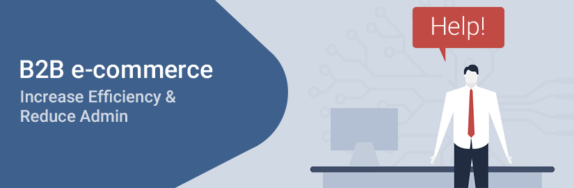 Increase efficiency and reduce admin with a B2B e-commerce system