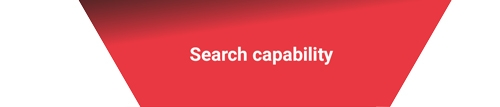 Second category from the category laddar above. Search capibiliy.