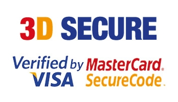 3D secure trust badge